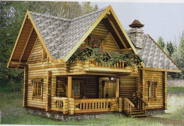 Проекти деревянних домов