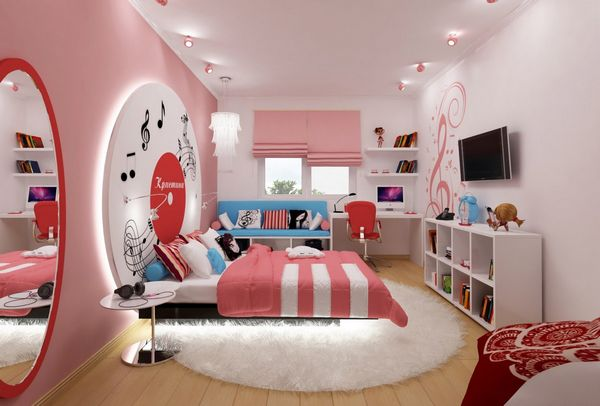 Как обустроить комнату для девочки?