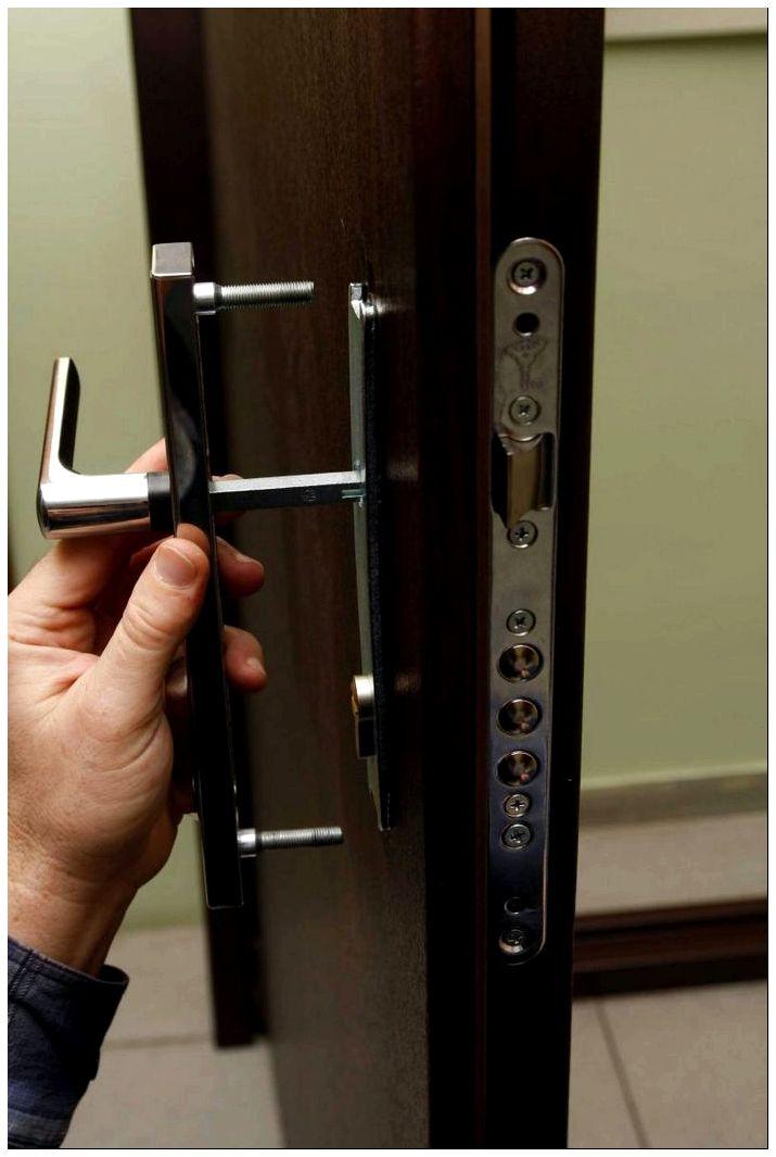 замена замка на входной двери швы термобелье