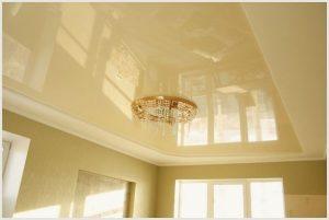 Что такое глянцевый потолок