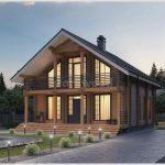 Загородный дом по проекту