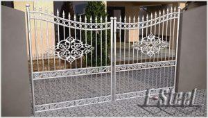 Кованые изделия, ограды заборы и ворота из нержавеющей стали