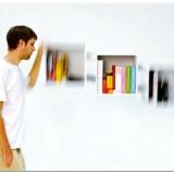 Идея для навесной книжной полки