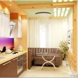 Каким должен быть размер дивана для кухни 12 кв. м?