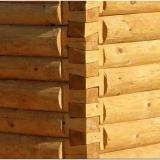 Этапы строительства сруба бани из бревна