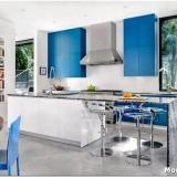 Кухня в голубых тонах: создаём нежный и воздушный интерьер