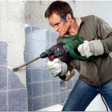 Как отбить старую плитку перед началом ремонта