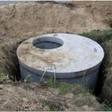 Как сделать сливную яму из бетонных колец