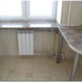 Стол-подоконник на кухне – варианты планировки
