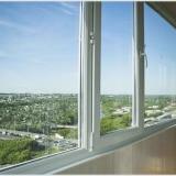 Пластиковые окна для остекления лоджии или балкона