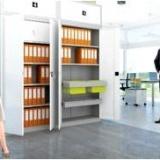 Идеальное место для хранения документов в офисе – металлический шкаф