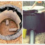 Гидроизоляция колодца из бетонных колец: чем ее выполнить?