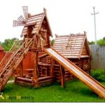 Как самостоятельно построить игровой домик для детей