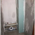 Как спрятать трубы в туалете