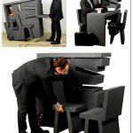 Компактная мебель для офиса: все-в-одном