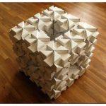 Мебель из картонных блоков