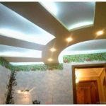 Подвесные потолки из гипсокартона – инструкция
