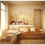 Свежие идеи покраски стен в спальне