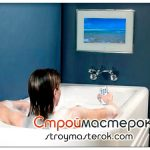 Телевизоры для ванной комнаты