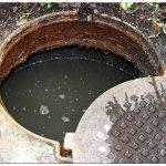 Заилился канализационный колодец – что делать?