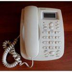 Золотой телефон как украшение интерьера