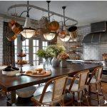 Определяемся со стилем, выбираем мебель, отделочные материалы и цвета кухни в частном доме