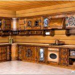 Дизайн кухни под старину: деревенский и голландский интерьер