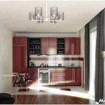 Дизайн кухни с двумя окнами — 7 примеров