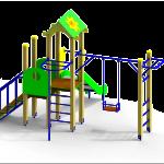 Детские площадки из пластика – что купить и как установить?