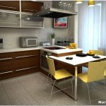 Как создать дизайн кухни в 4 кв. метра?