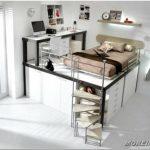 Идеи дизайна комнаты для подростка — 52 фото