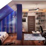 Как объединить рациональность и фантазию при разработке дизайна подростковой спальни?
