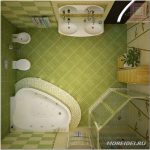 Дизайн ванной комнаты 5 м — как решить проблему тесноты