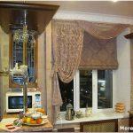 Дизайн окна на кухне — простые решения для красивой кухни