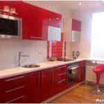 Кухня красного цвета: готовы ли вы радикально изменить свою жизнь?