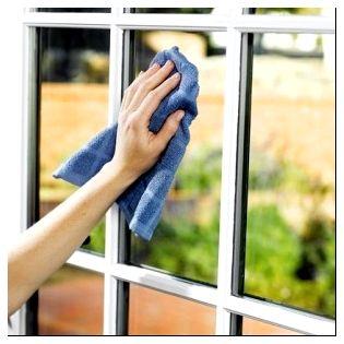 ЗАчем протирать стекло сухой тряпкой